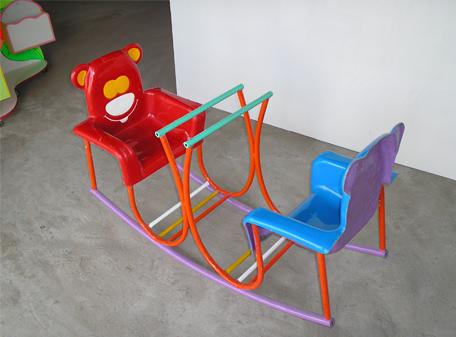 Bập bênh ghế gấu 2 chổ ngồi