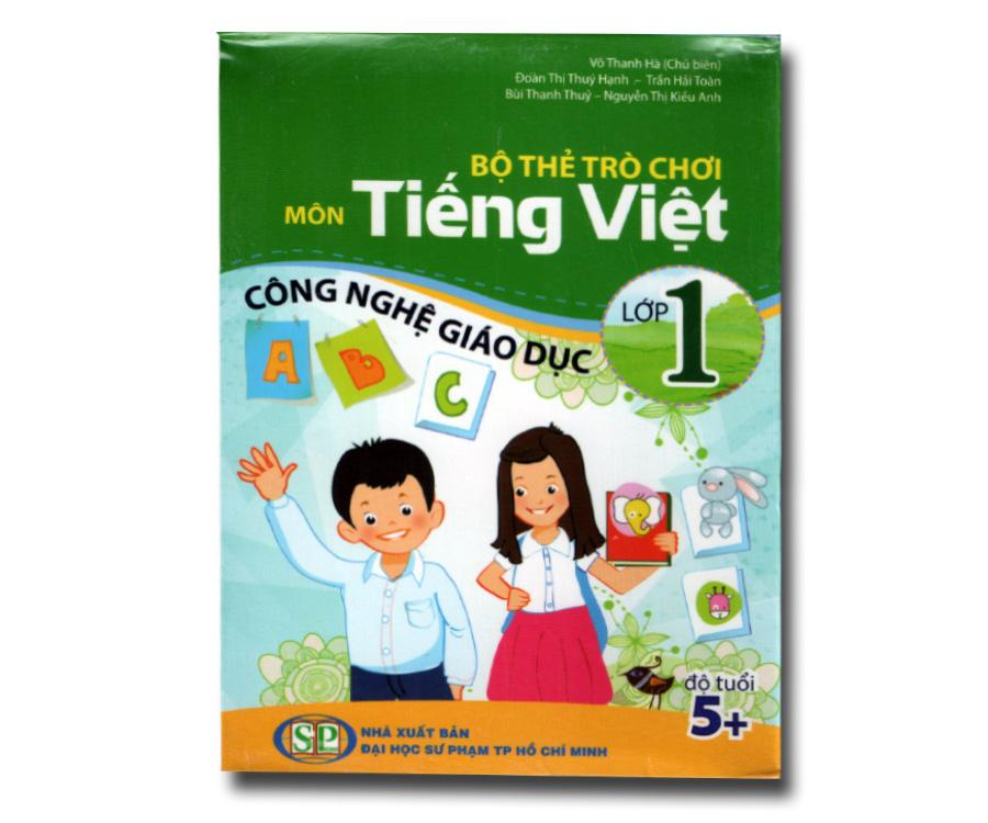 Bộ thẻ trò chơi môn Tiếng Việt lớp 1 - Giáo dục công nghệ
