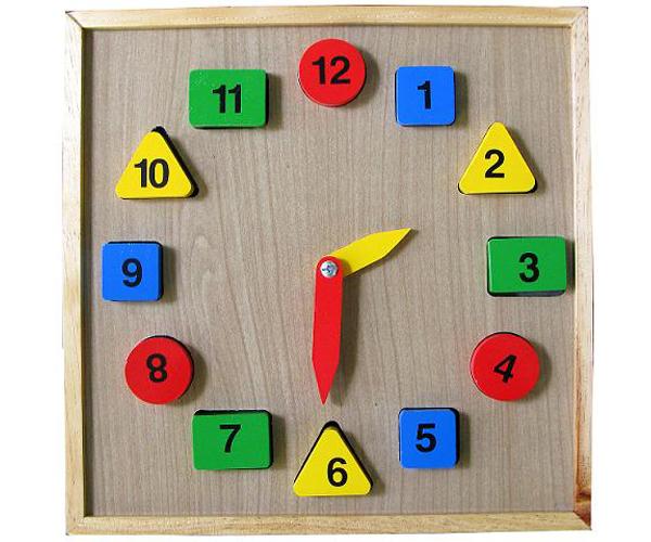 Đồng hồ học số học hình