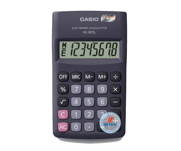 Máy tính Casio HL815L-BK