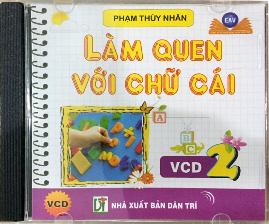 Đĩa Audio CD - Làm quen với chữ cái - VCD2