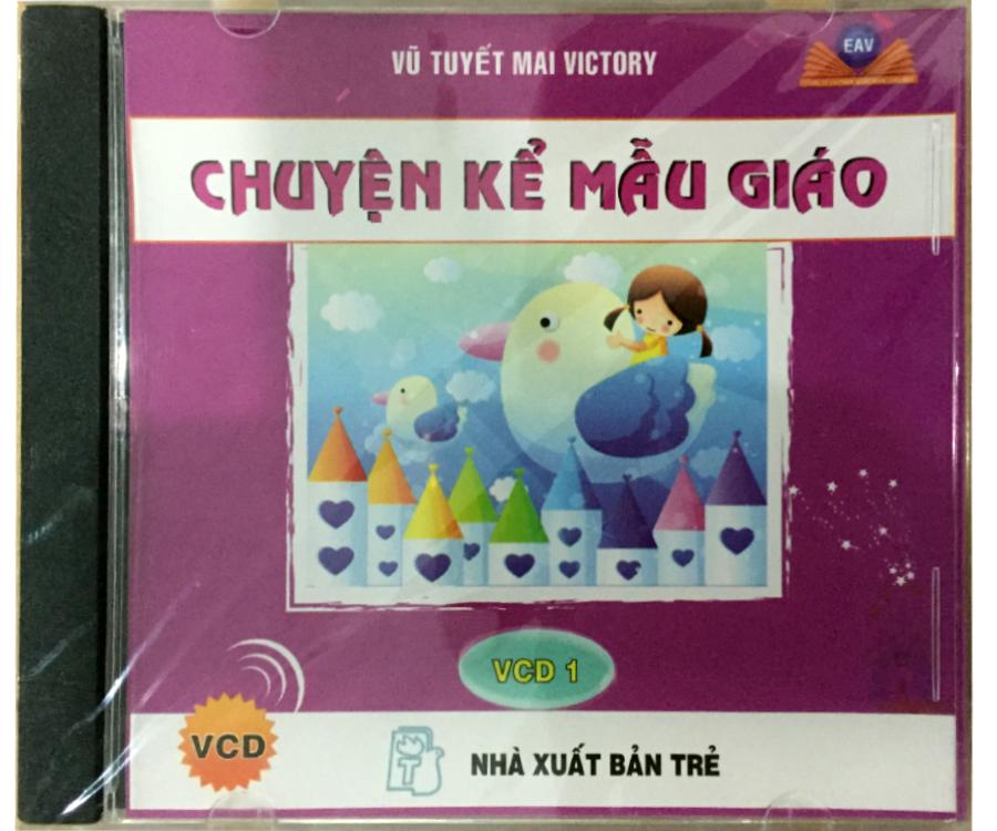 Đĩa Audio CD - Truyện Kể Mẫu Giáo - VCD 1
