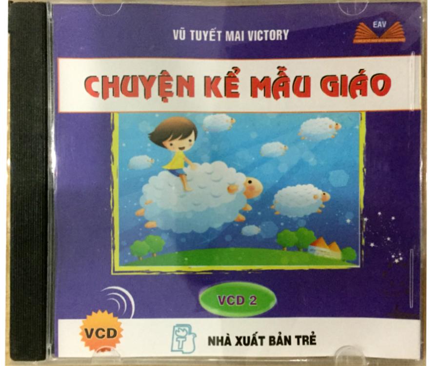 Đĩa Audio CD - Truyện Kể Mẫu Giáo - VCD 2