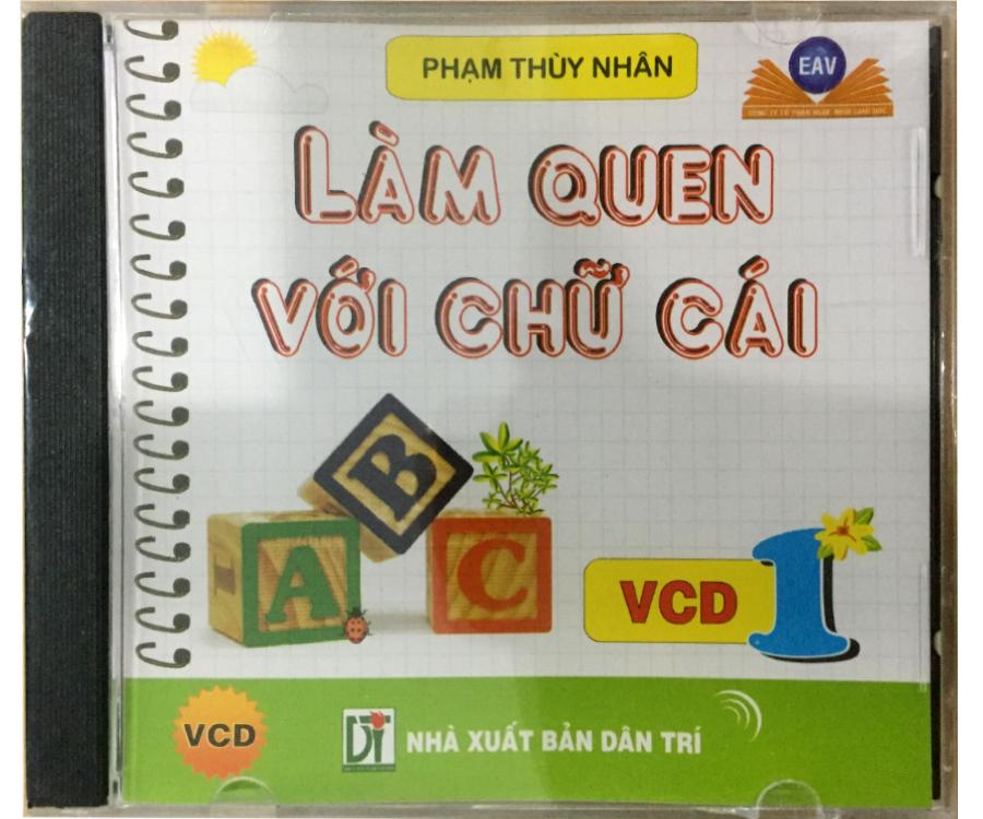 Đĩa Audio CD - Làm quen với chữ cái - VCD1