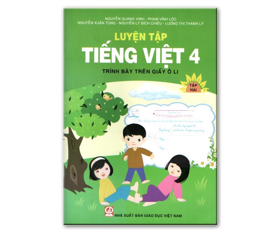 Luyện tập Tiếng Việt 4/2 - trình bày trên giấy ô li