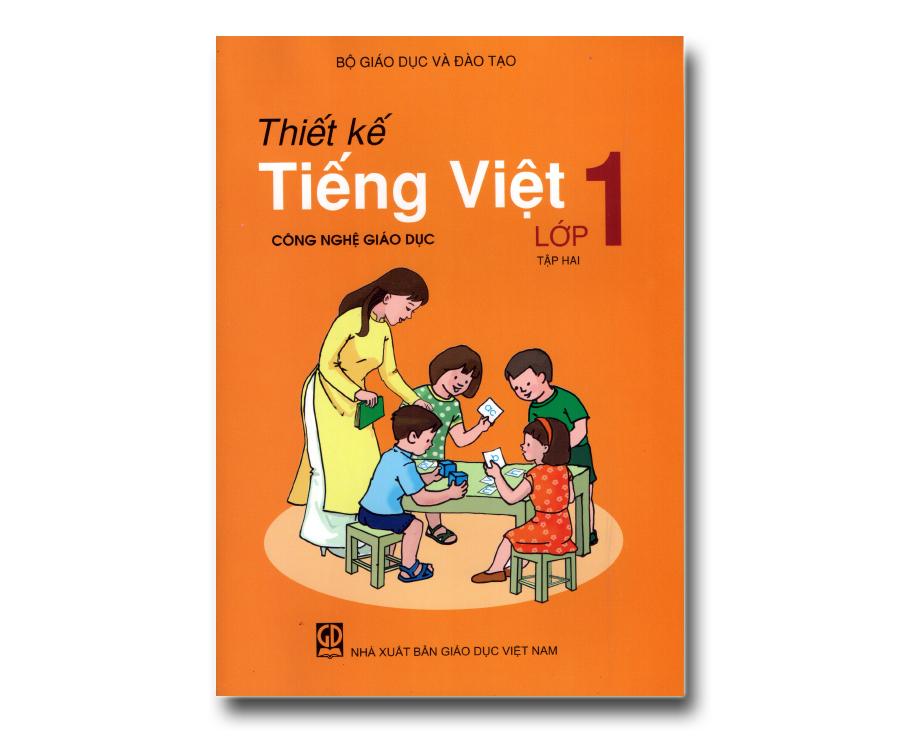 Thiết kế Tiếng Việt lớp 1 tập 2 (Giáo Dục Công Nghệ)