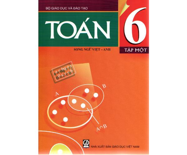 Toán 6/1 (Song ngữ Việt - Anh)
