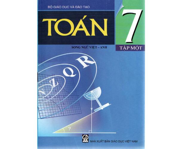 Toán 7/1 (Song ngữ Việt - Anh)