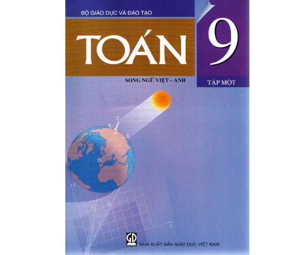 Toán 9/1 (Song ngữ Việt - Anh)