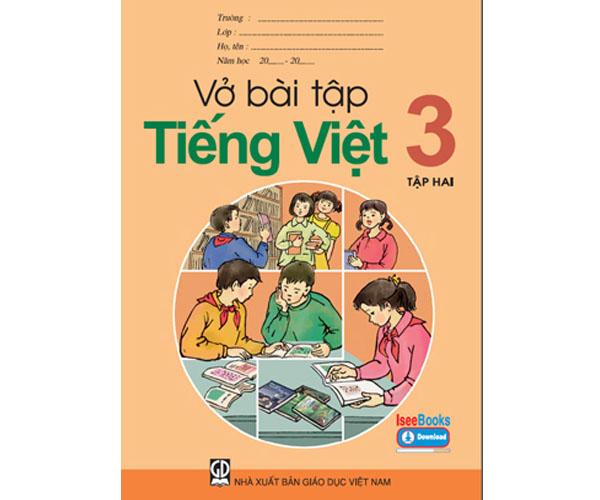 Vở BT Tiếng Việt lớp 3 tập 2