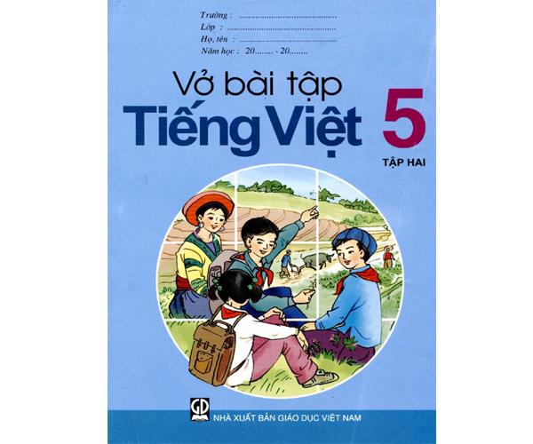 Vở bài tập Tiếng Việt 5/2